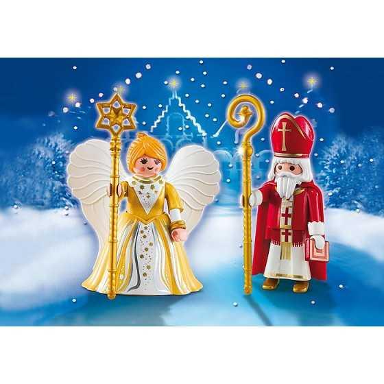 Playmobil 5592 Saint Nicolas et Ange Doré