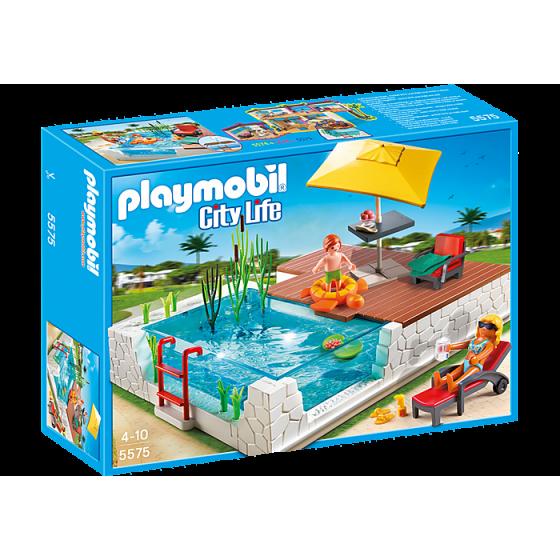 Playmobil 5575 Piscine avec...