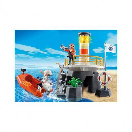 Playmobil 5626 Phare avec bateau de secours