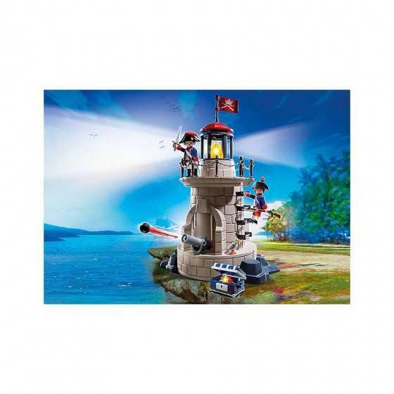 Playmobil 6680 Phare lumineux avec soldats