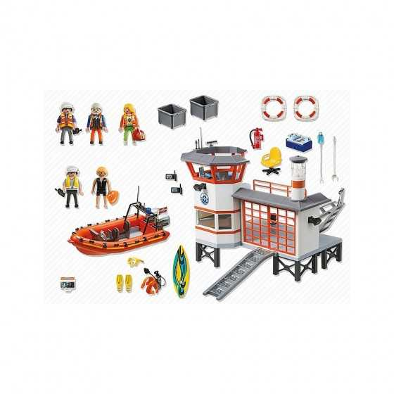 Playmobil 5539 Poste de secours des sauveteurs en mer