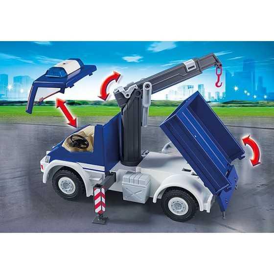 Playmobil 9880 Equipe de secouristes avec camion et bateau