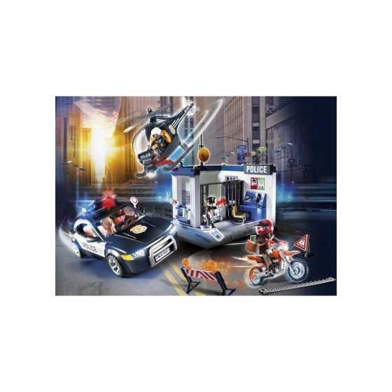 Playmobil 70326 Bureau de police avec voiture