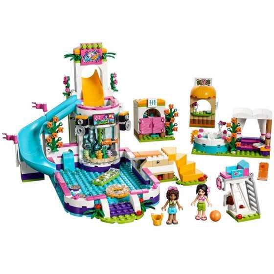 Lego 41313 La piscine d'Heartlake City