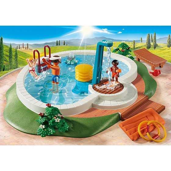 PLAYMOBIL 9422 Piscine avec douche