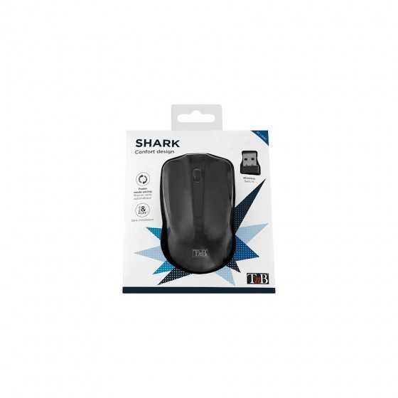 Souris SHARK Confort Design sans fil optique 2.4 GHz