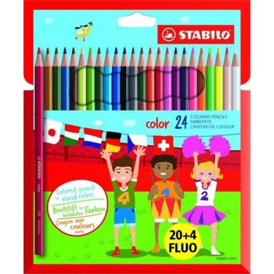 STABILO Color - 24 Crayons...