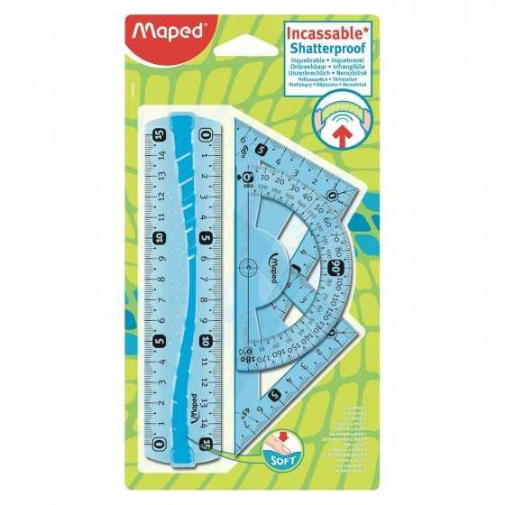 MAPED Kit de traçage 15cm 4...