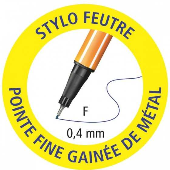 STABILO ColorParade 20 stylos-feutres point 88 Individual Just Like You