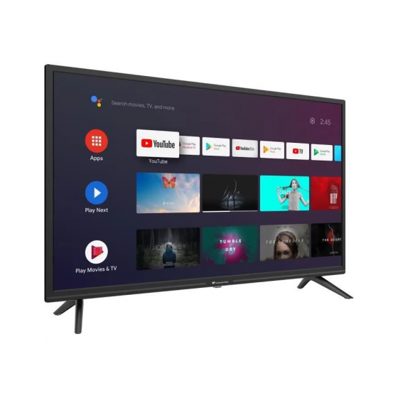"""CONTINENTAL EDISON Android TV LED HD - 32""""(80 cm) - WiFi - Bluetooth - HDMIx3 - USBx2 - Commande Vocale"""