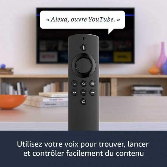 Fire TV Stick Lite avec télécommande vocale Alexa | Lite - Streaming HD, Modèle 2020