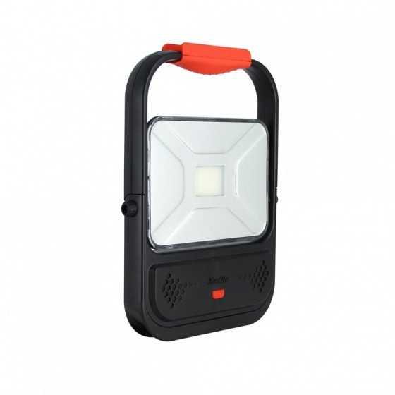 Projecteur à LED rechargeable - 1400 lumens - extra-plat