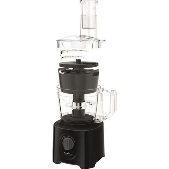 MOULINEX Robot Multifonction 2.4l 800w Noir - Fp245810