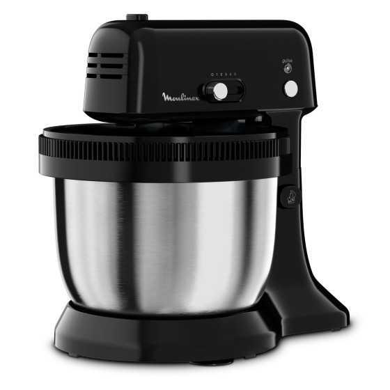 MOULINEX  Robot culinaire QA110810 My Cake 4 l 300W Noir