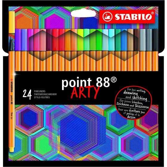 STABILO Feutre point 88...