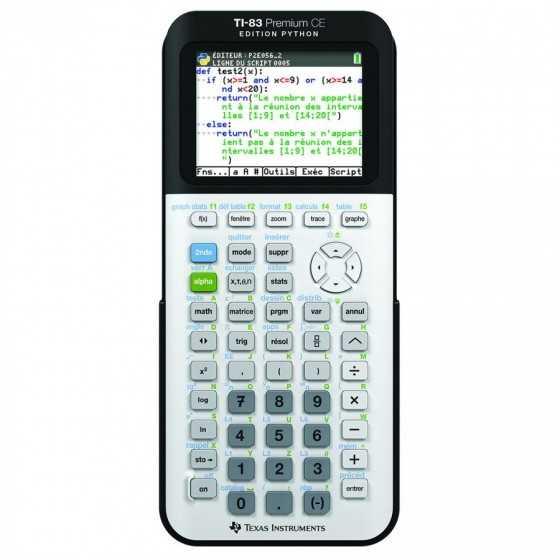 TEXAS Calculatrice...