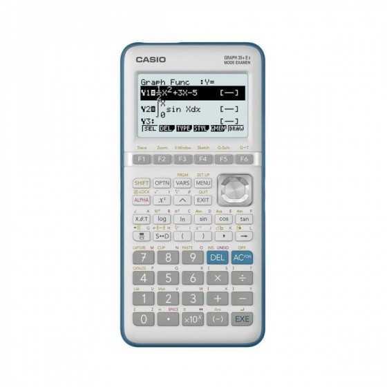 CASIO Calculatrice graphique Graph 35+E II Mode Examen Python & Programmable