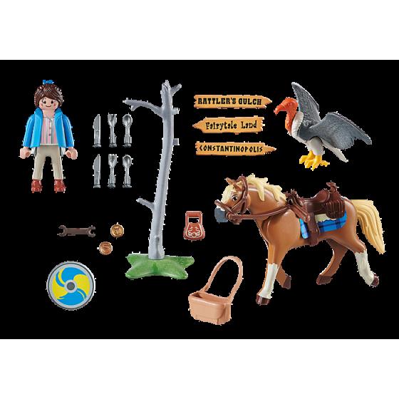 PLAYMOBIL 70072 The movie Marla avec cheval