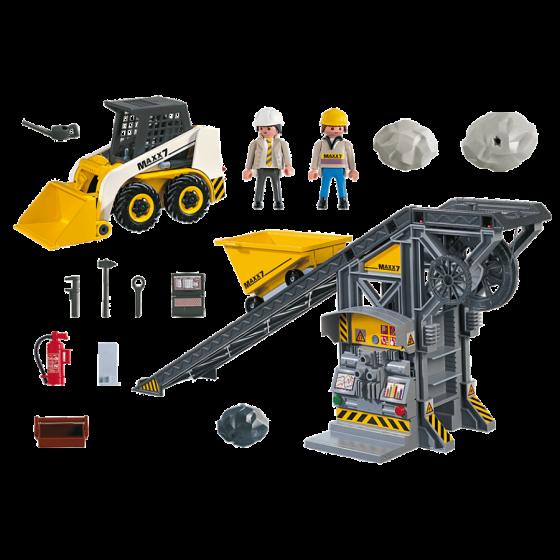 Playmobil 4041 Convoyeur avec pelleteuse