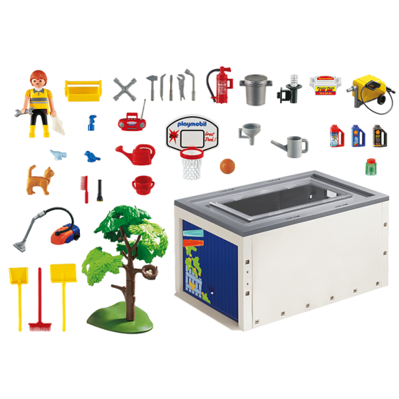 Playmobil 4318 Garage de la maison