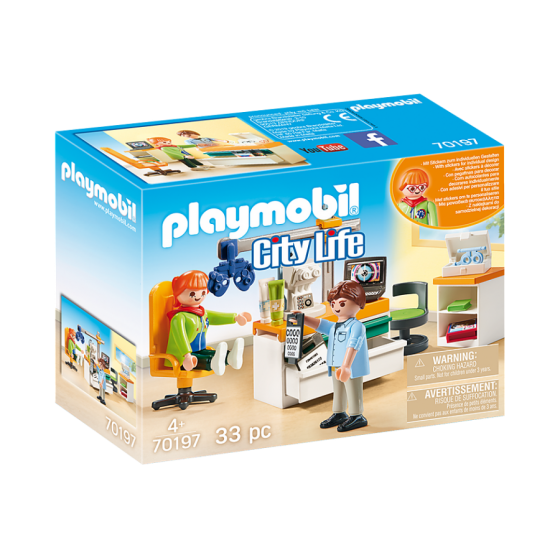 Playmobil 70197 Cabinet...
