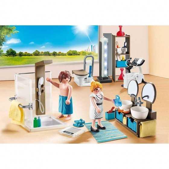 Playmobil 9268 Salle de bain avec douche à l'italienne