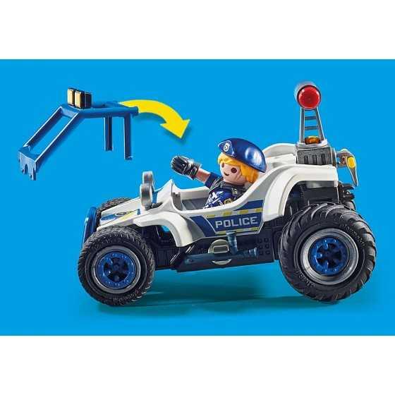 PLAYMOBIL 70570 - City Action - Policier avec voiturette et voleur à moto