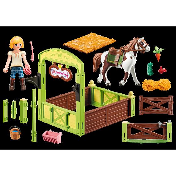 PLAYMOBIL 9480 Abigaëlle et Boomerang avec box