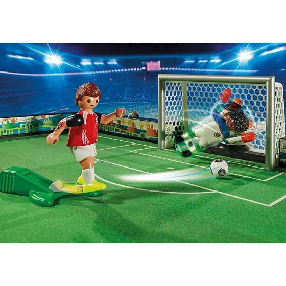 Playmobil 70244 Grand terrain de football transportable