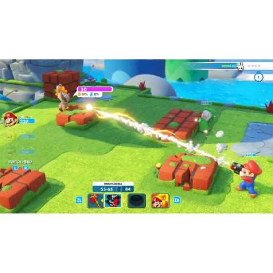 Mario + The Lapins Crétins Kingdom Battle Jeu Switch