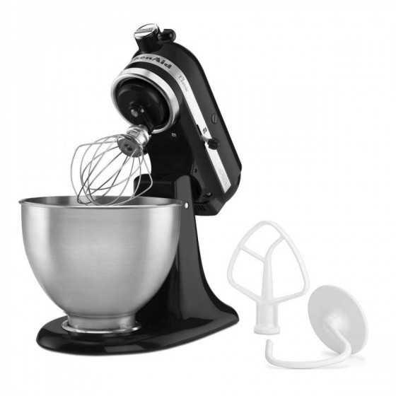 Robot pâtissier KITCHENAID CLASSIC 5K45SSEOB - Noir
