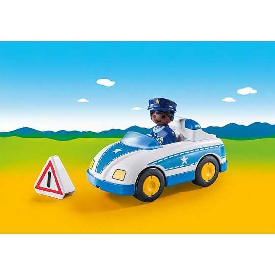 PLAYMOBIL 9384 123 Voiture de police