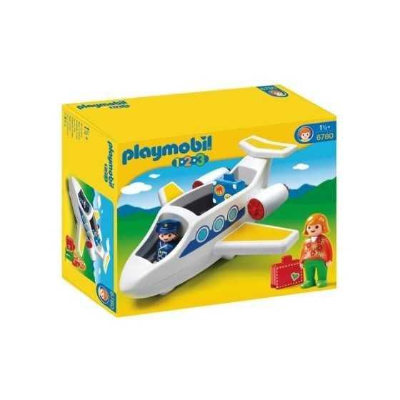 PLAYMOBIL 6780 123 Avion de...