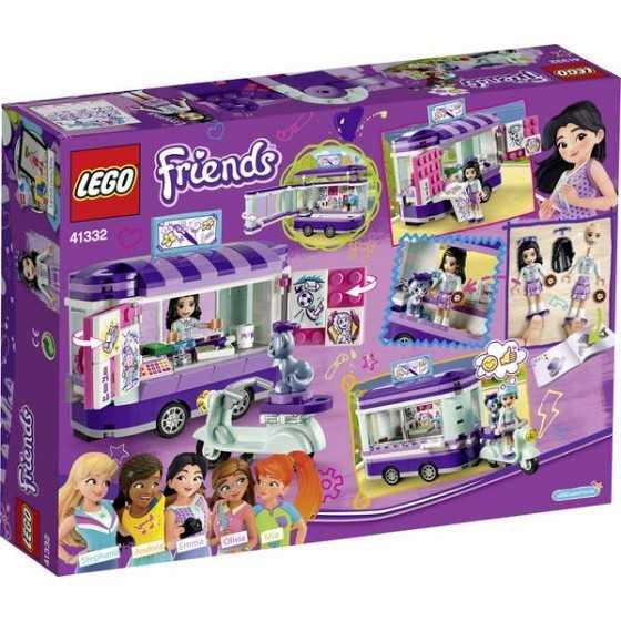 LEGO Friends 41332 - Le stand d'art d'Emma