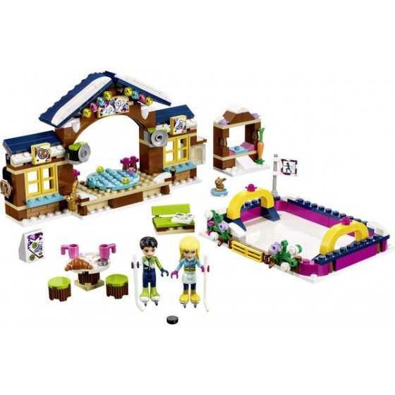 LEGO 41322 La patinoire de la station de ski