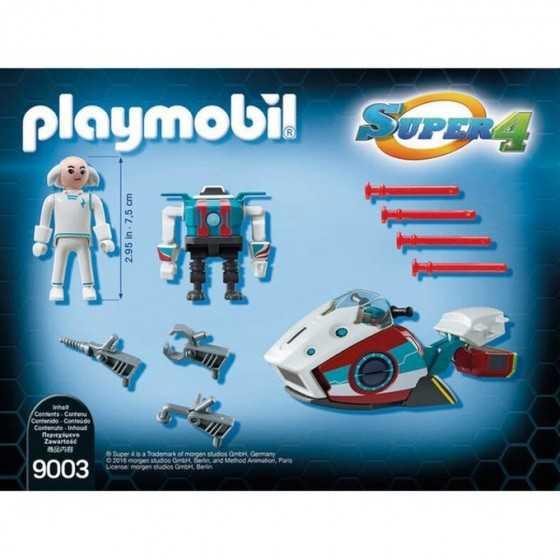 PLAYMOBIL 9003 Sky jet et docteur x