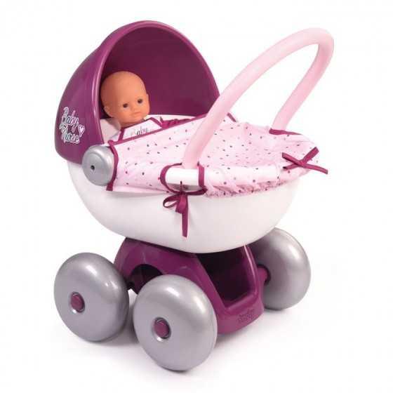 SMOBY Baby nurse Landau câlin