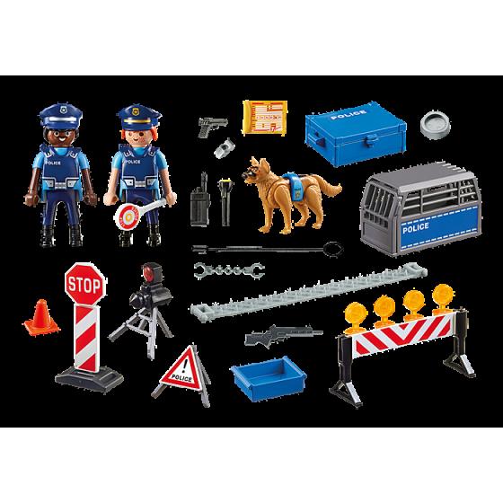 PLAYMOBIL 6924 Barrage de police