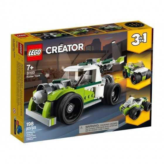 LEGO 31103 Le camion-fusée